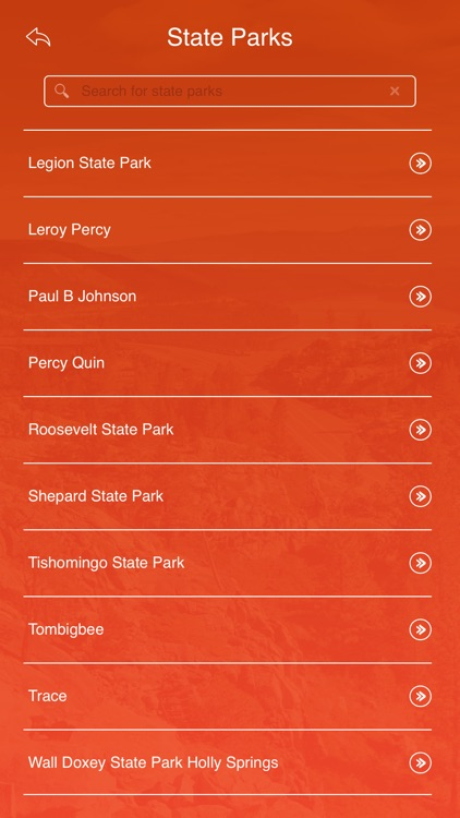 Mississippi State Parks & Trails screenshot-2