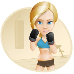 Fitness Girl for iMessage