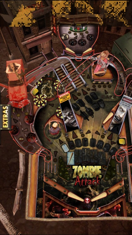 Zombie Attack Pinball HD: Monster Challenge screenshot-4