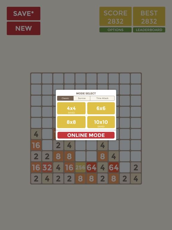 2048 4x4 6x6 8x8 10x10 на iPad