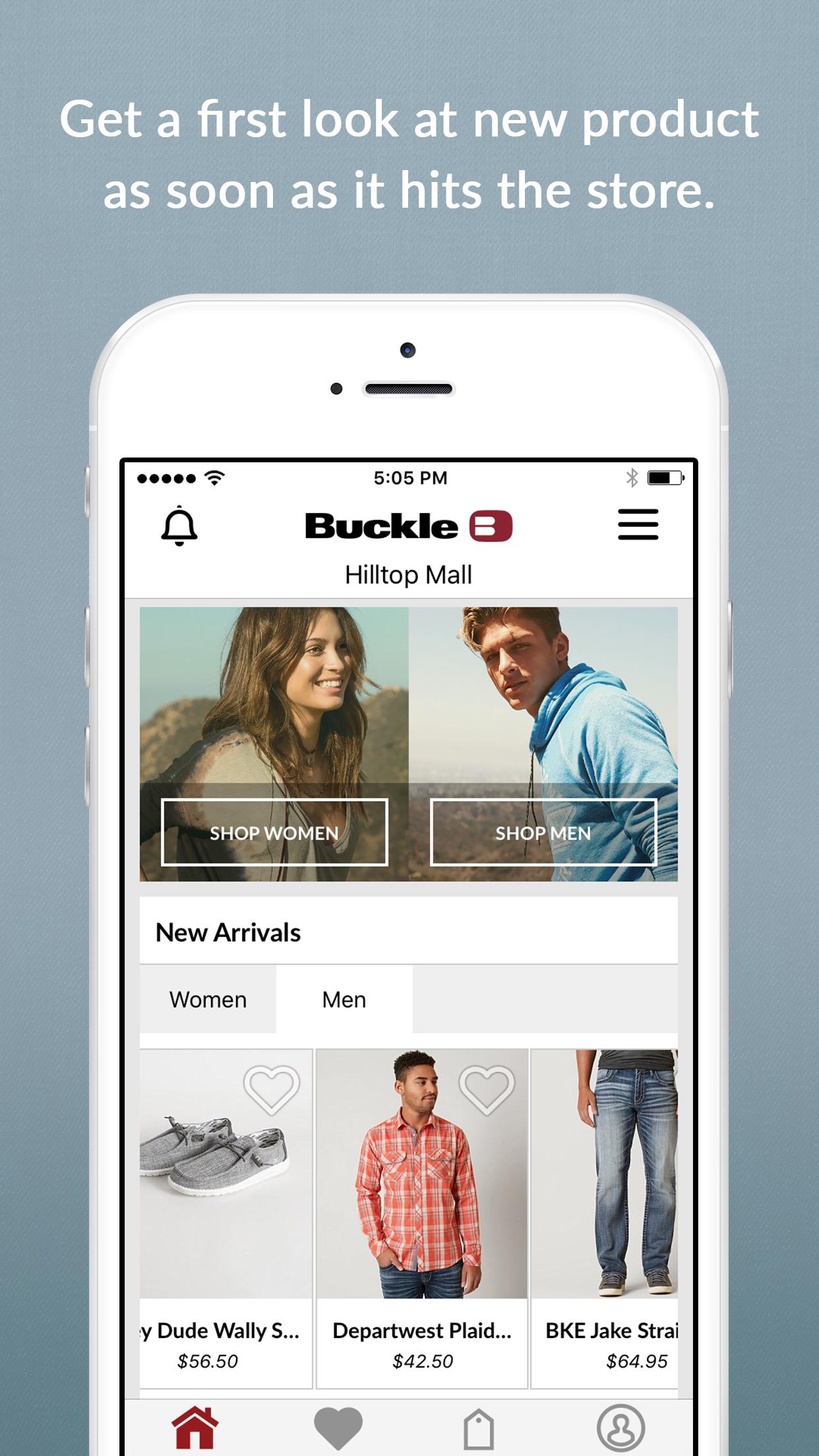 Buckle - Shop & Reserve Screenshot