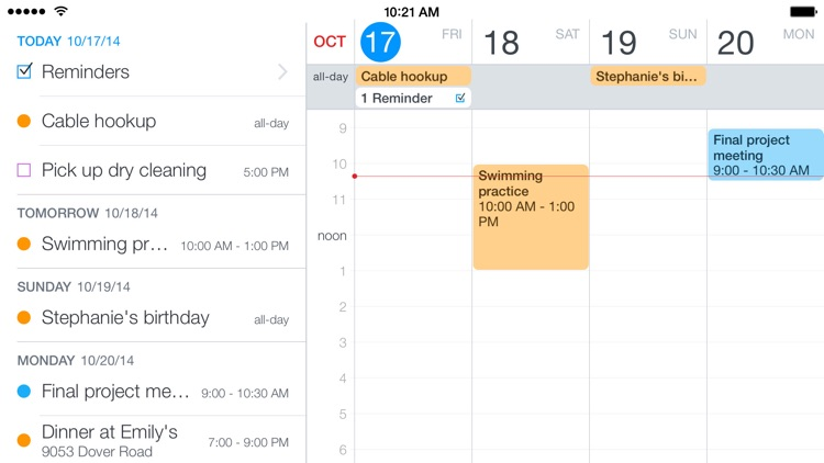 Fantastical 2 for iPhone - Calendar and Reminders app image