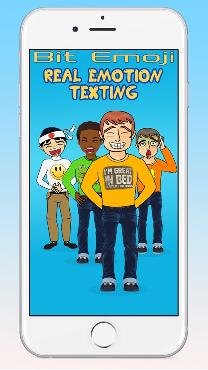 Bit Emoji (BitEmoji) Real Emotion Texting Stickers