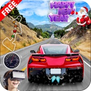 VR - Crazy Car Racer : Traffic Racing Free
