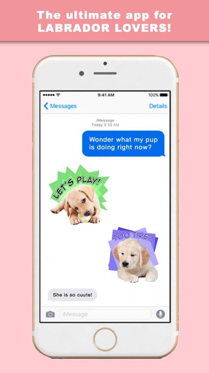 LabLoveMoji - Stickers & Keyboard for Labradors