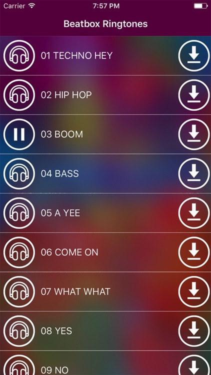 Beatbox Ringtones – Best Vocal Drums & Percussion by