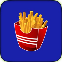 Fun Fast Food Sticker Pack for Messaging