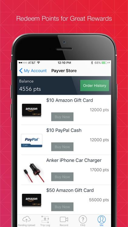 Payver - Dashcam with Rewards