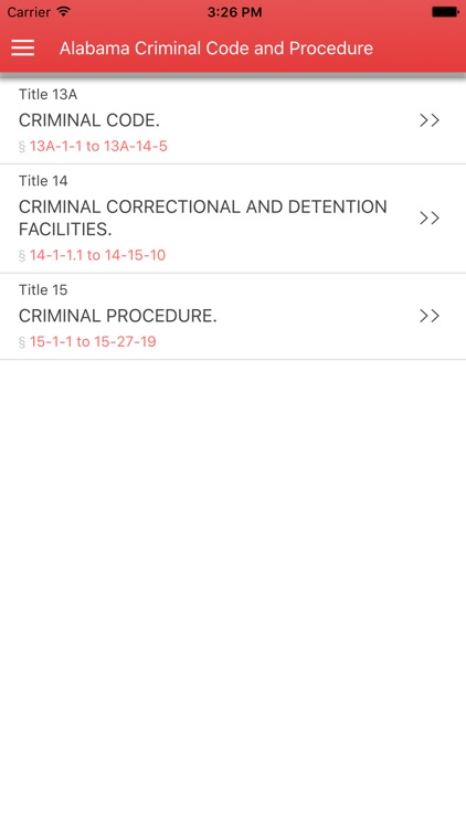 Alabama Criminal Code and Criminal Procedure
