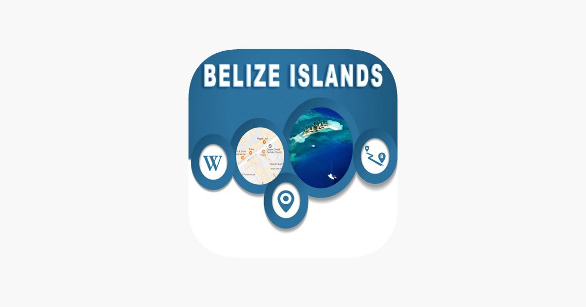 Belize Islands fline City Maps Navigation on the App Store