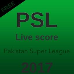 PSL 2017 live Score & Schedule