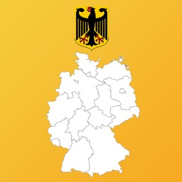 Germany State Flags and Maps