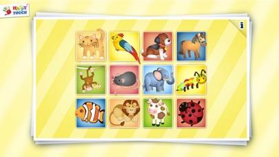 Animiertes Tier Puzzle für Kinder von HAPPYTOUCH®Screenshot von 2