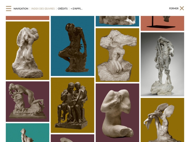 Rodin, l'e-album de l'exposition du centenaire screenshot-4