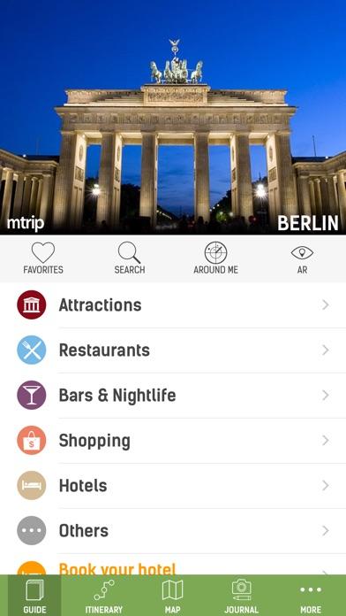 Berlin Travel Guide - mTrip Screenshot 1