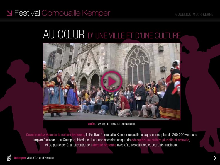 Quimper, ville capitale screenshot-4