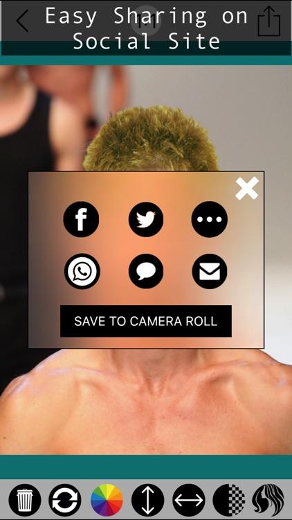 Male Hair Photo Editor - Macho screenshot-3