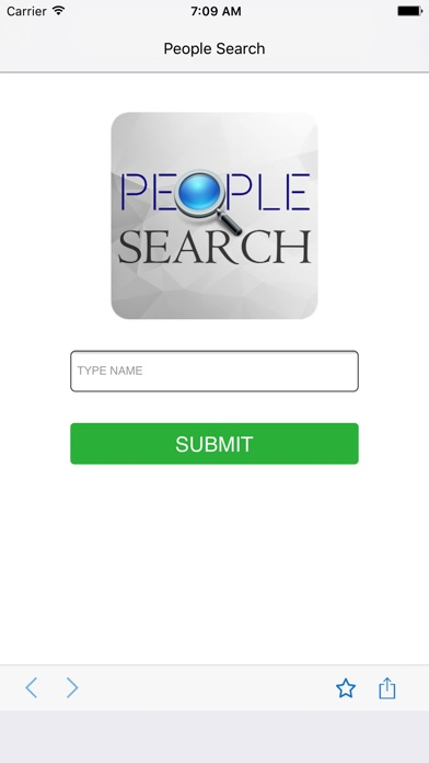 People Search - Search by Name Screenshot on iOS