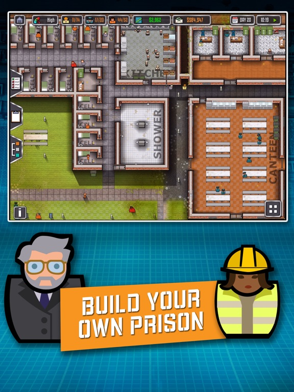 Prison Architect: Mobileのおすすめ画像1