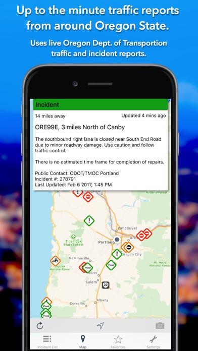 Oregon Roads Traffic