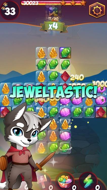 Treasure Tiles: Match 3 Gems Puzzle Game screenshot-3