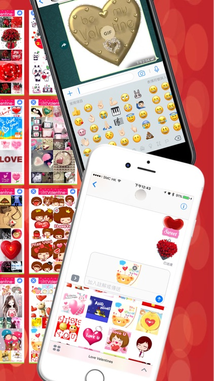 LoveValentine - Stickers for Messenger & WhatsApp