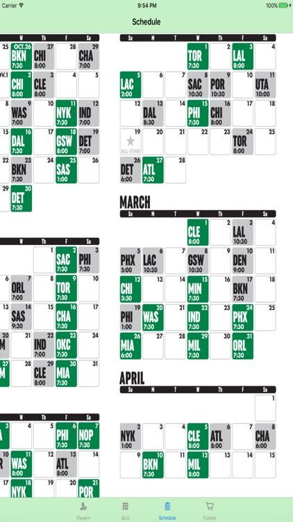 Team Information - NBA Boston Celtics edition screenshot-3
