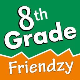 8th Grade Friendzy - Reading, Statistics, Science