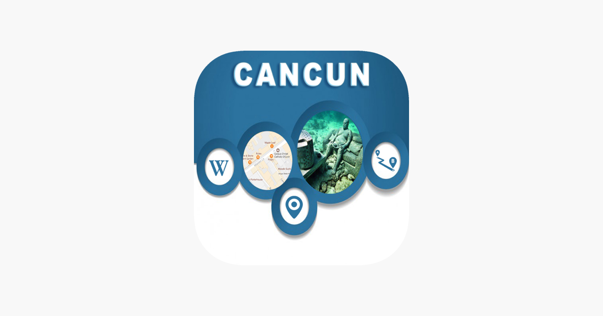 Cancun Mexico Offline Maps Navigation Tourism App Storessa
