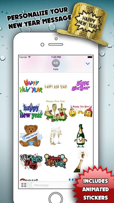Happy New Year for iMessageScreenshot von 3