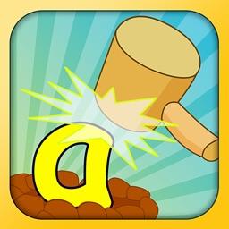 幼儿园学习拼音游戏-拼音打地鼠