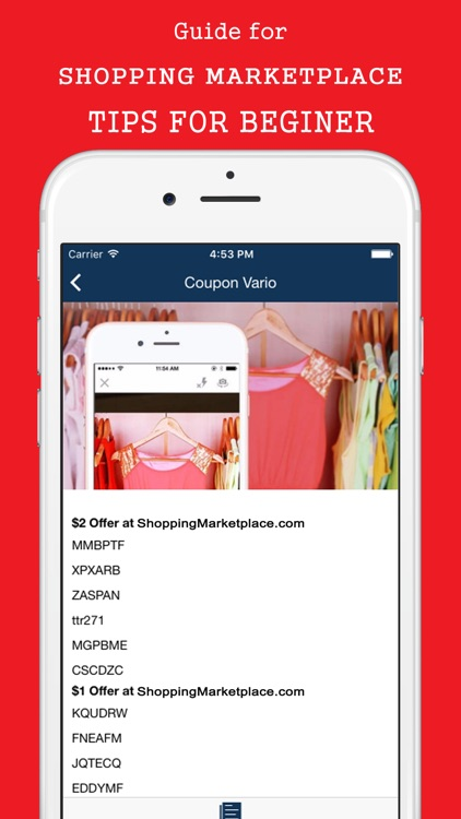 Promo Codes for Shopping Buy & Sell Stuff