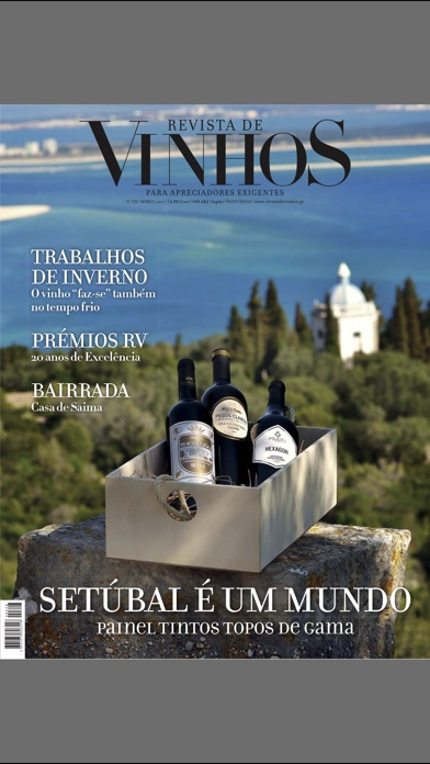 Screenshot for Revista de Vinhos in United States App Store