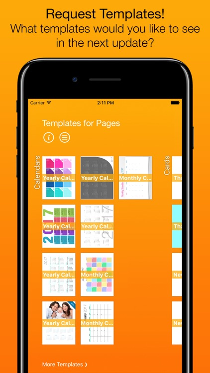 Templates for Pages (for iPad, iPhone, iPod touch) screenshot-4