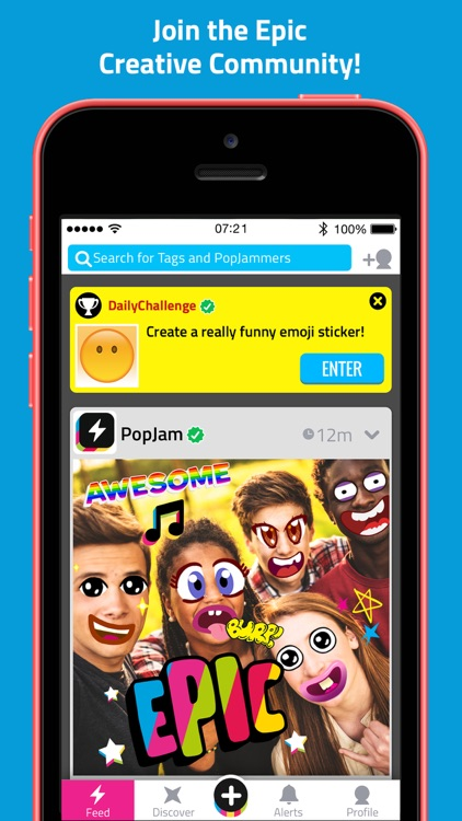 PopJam: Chat With Friends! screenshot-0