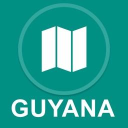 Guyana : Offline GPS Navigation