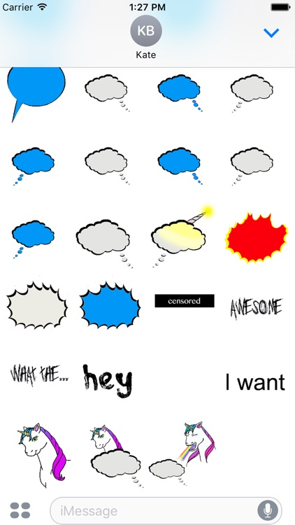 Speech bubbles screenshot-0