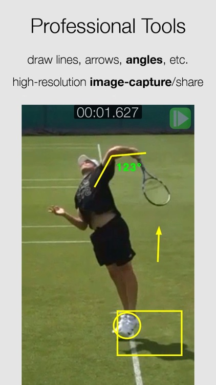 CMV: Slow Frame-Frame Video Analysis CoachMyVideo