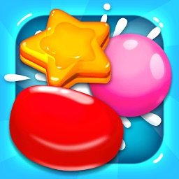 Hey Gummy Blast! - Sweet Candy Match 3 Game