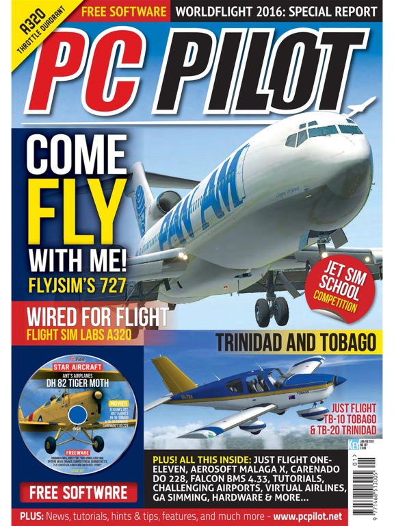 PC Pilot - Flight Sim Magazine door Tri Active Media Ltd