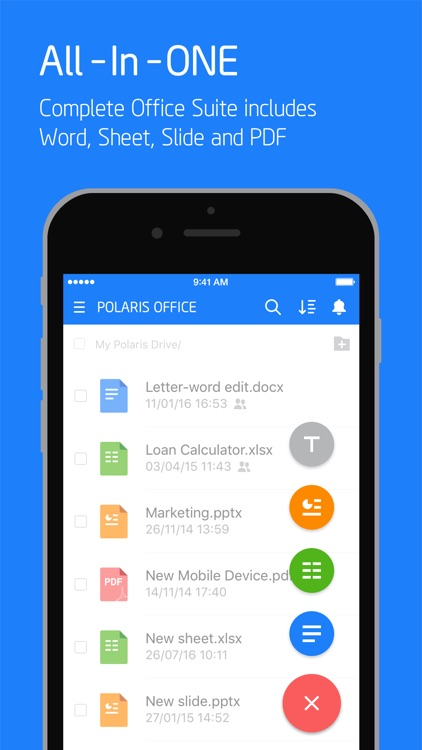 Polaris Office - Docs & PDF screenshot-0