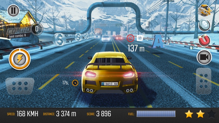 Road Racing: Highway Traffic Driving 3D screenshot-0