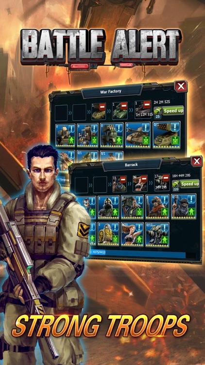 Battle Alert:War of Tanks screenshot-3