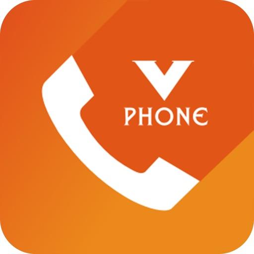 V Phone app logo