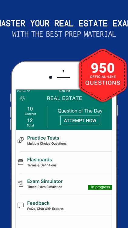Real Estate Practice Exam Prep 2017 – Test Q&A