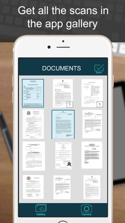 SCANNER - PDF Document Scan screenshot-3