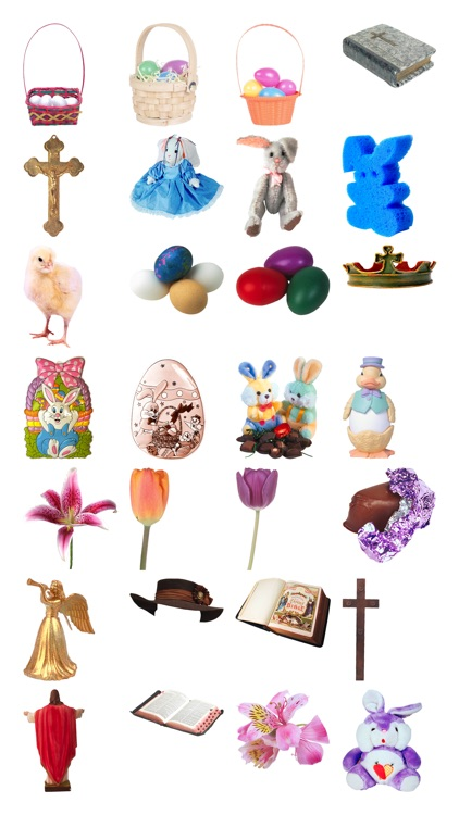 Easter Stickers #1 for iMessage screenshot-3