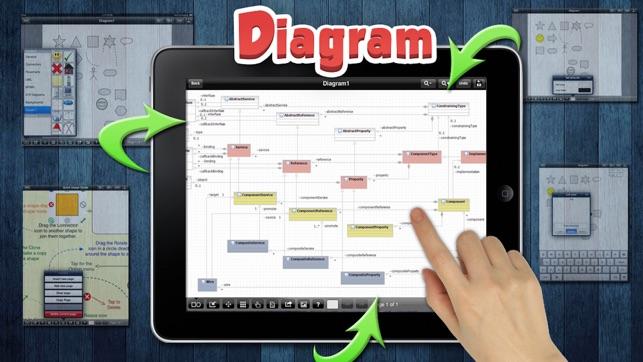 Diagram creator graphic design workflow studio on the app store ccuart Gallery
