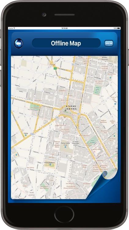 Athens Greece - Offline Maps Navigator