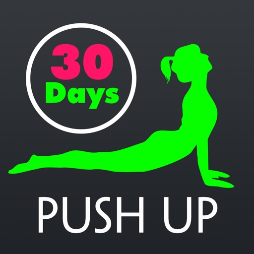 30 Day Push Up Fitness Challenges ~ Daily Workout app logo